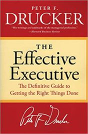 The Effective Executive - Peter Drucker - Book Cover